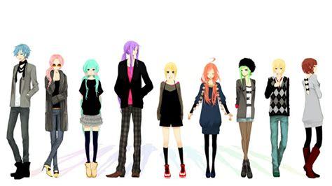 len modern vocaloid casual modern clothing fashion vocaloid