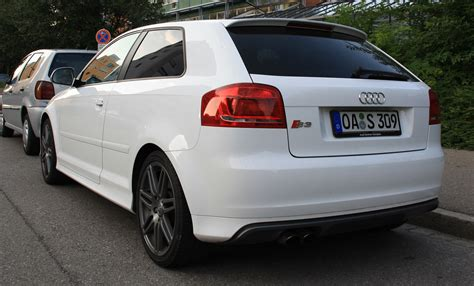 White S3 Audi by File Audi S3 Back White Jpg Wikimedia Commons