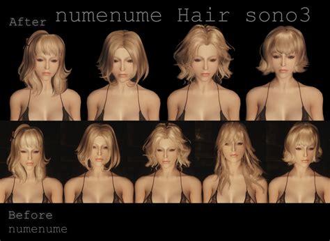 skyrim hair mods numenume hair at skyrim nexus mods and community