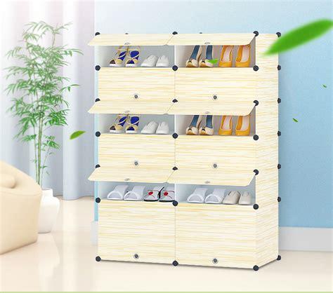 modern korean balcony multilayer plastic shoe cabinet diy shoe cabinet home design