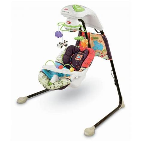 floor baby swing fisher price luv u zoo cradle baby swing v1179 infant