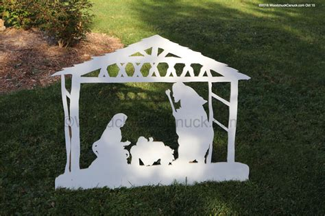 woodworking patterns yard 05 wc 1371 nativity 2d yard