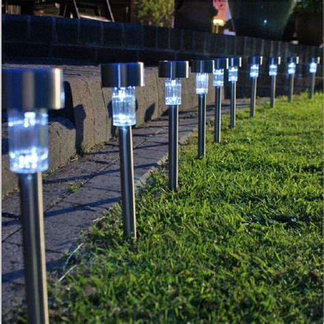 Landscape Lights Solar Aliexpress Buy Solar Lawn Light For Garden Drcoration Stainless Steel Solar Power Light