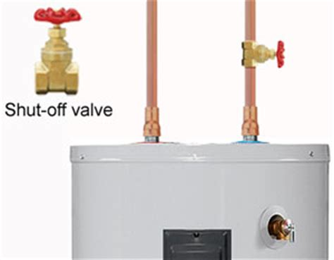 how to shut off gas to house water heater inspection homeownerbob s blog
