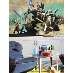 Star Wars Wall Murals star wars clone wall mural wallpaper accent decor