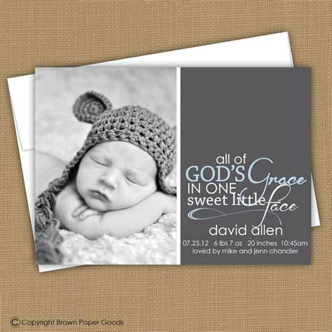 The Modern Way To Announce A Birth Baby Momento by Modern Baby Boy Birth Announcement Custom Photo Card Photo