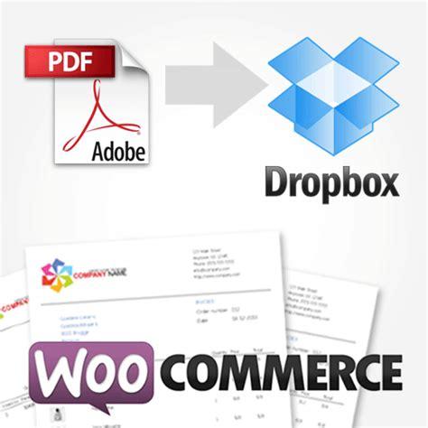 dropbox billing woocommerce pdf invoice template hardhost info