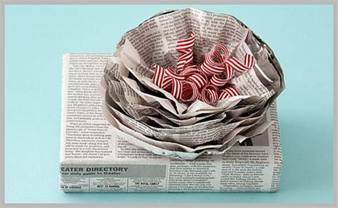 gift wrapping with newspaper ideas paper clutter or creative gift wrap andrea dekker