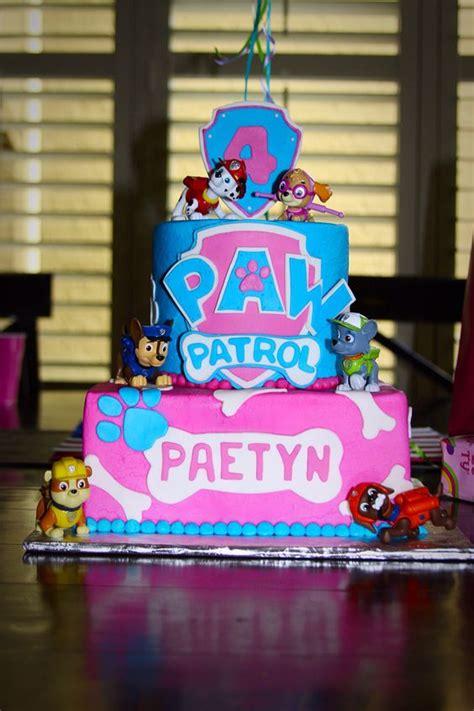 perfect paw patrol birthday cakes pretty  party