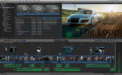 final cut pro rumors apple demos final cut pro x at nab 2011 ships in june for