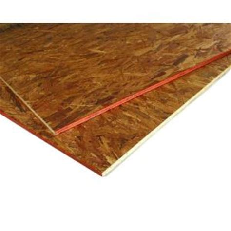 advantech 23 32 in x 4 ft x 8 ft tongue and groove aspen osb underlayment panel 1012405 the