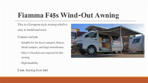 Wind Out Awnings by Top 7 Awnings For Your Caravans And Cervans