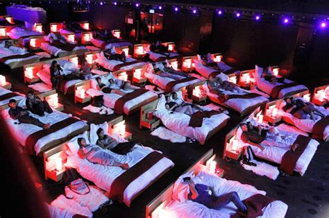movie theater beds catch a movie in bed at the theater four awesome theaters
