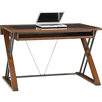 whalen astoria computer desk whalen 174 astoria computer desk brown cherry quill com