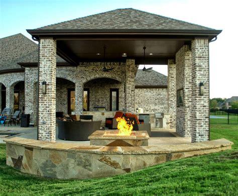 outdoor living space dallas area custom - Outdoor Living Spaces Dallas