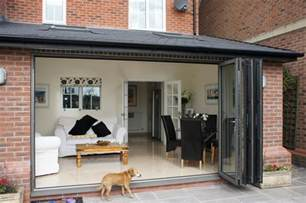 Replace Window With French Doors - house extension single storey with bi fold doors amp velux lymm cheshire transforming homes
