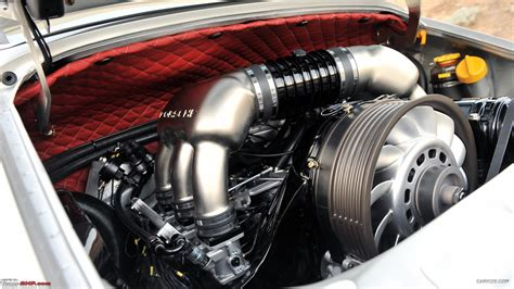 porsche singer engine international cars with the best looking engine bay team bhp