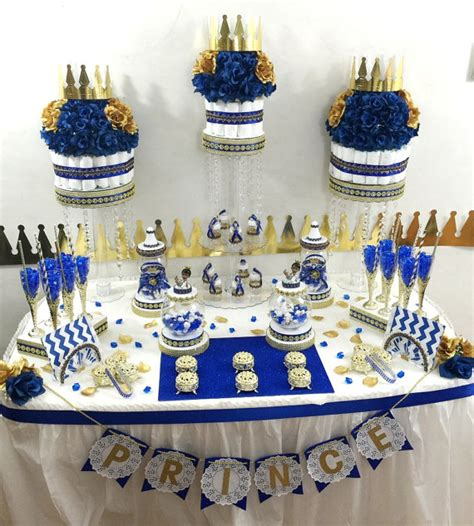 Royal Prince Themed Baby Shower Wholesale by Royal Prince Baby Shower Buffet By Platinumdiapercakes
