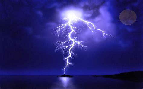 imagenes con movimiento de rayos fondo pantalla paisaje rayo en el mar rayos y energia