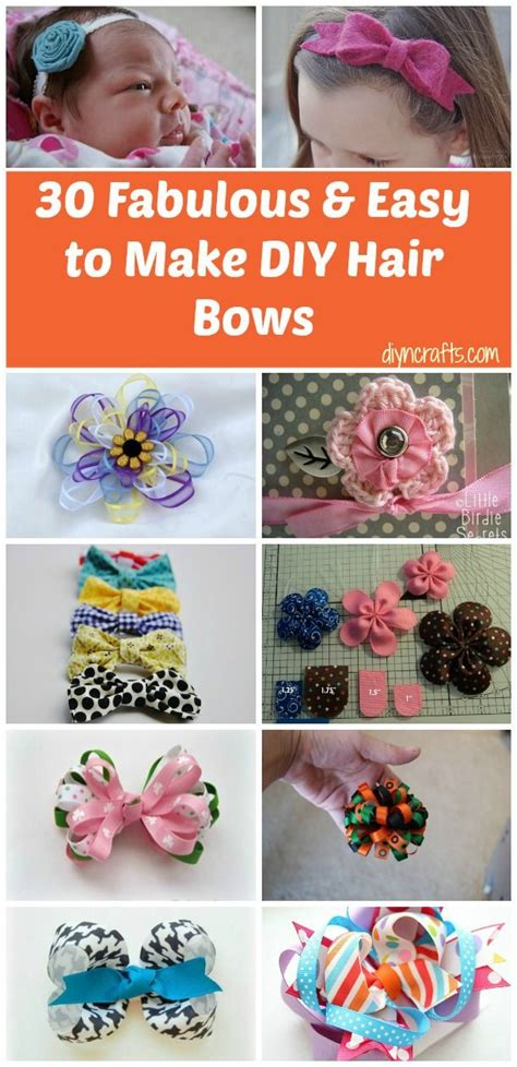 embellish her hair with these 30 adorable and affordable diy hair bows big money