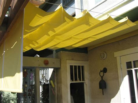 Deck Tarp Awning Awning Deck Shade Ideas Pinterest
