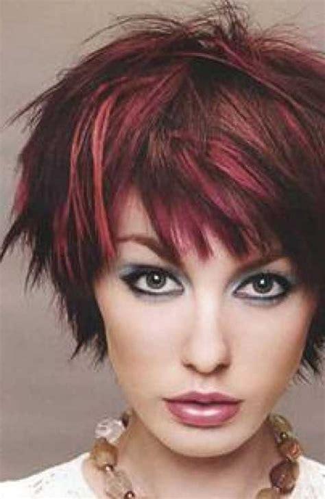 auburn hair with blonde highlights for mature women short blonde hair with red highlights women medium haircut