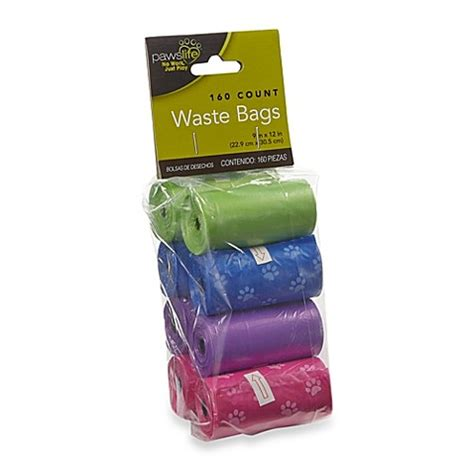 bed bath and beyond in store pickup pawslife 174 160 count rolled pick up waste bags bed bath beyond