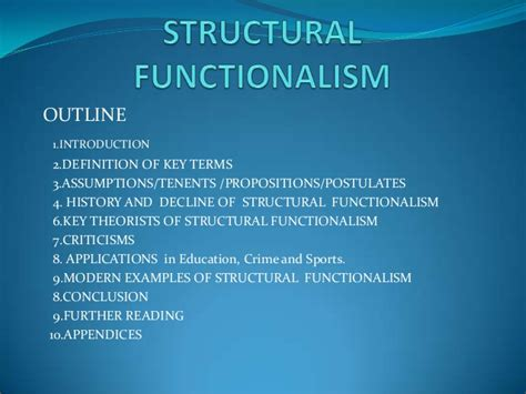 contemporary biography definition structural functionalism