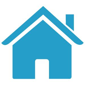 home blue icon home blue clipart best