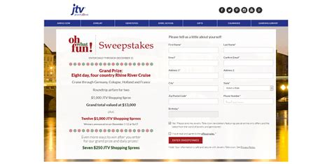 Jtv Com Sweepstakes - jtv oh what fun sweepstakes jtv com fun