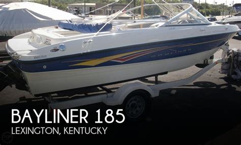 boats for sale in lexington kentucky pre owned 2007 bayliner 185 bowrider for sale in