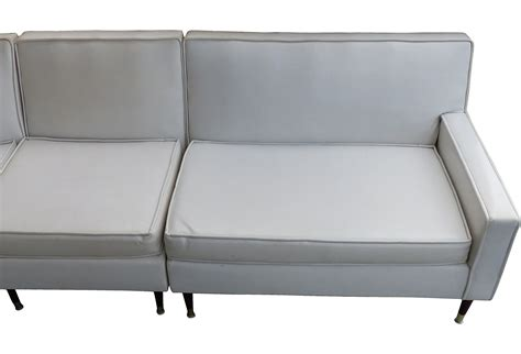 mid century modern sectional sofa modernism