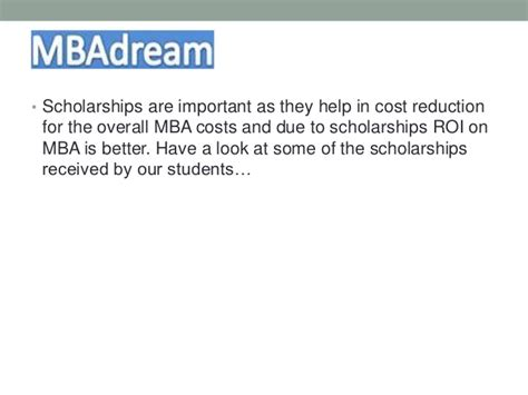 Mba And Company Reviews by Scholarships Best Admission Consulting Service