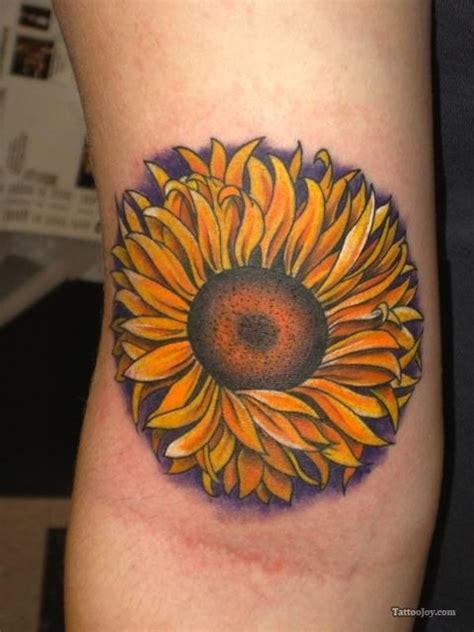 sunflower outline tattoo 125 sunflower to brighten your day
