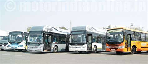 indian bus market embracing hybrid  electric solutions