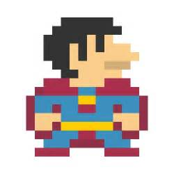 Pixelated Mario Characters Pixel Art Inspired By Pop Culture Characters Gadgetsin