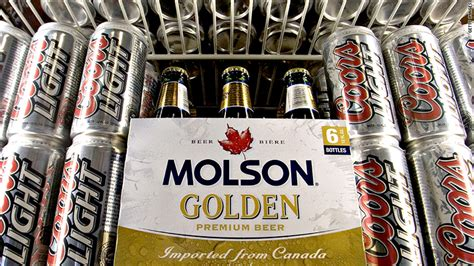 who owns coors light molson coors tanks on weak us beer sales