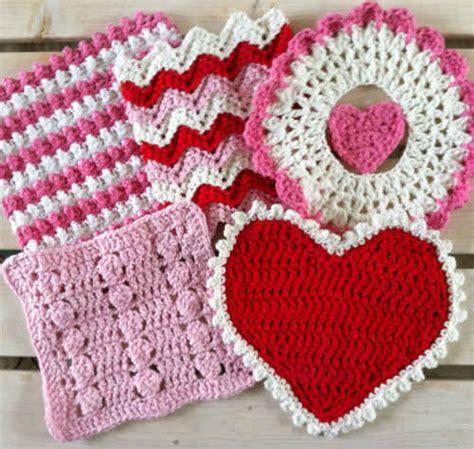crochet pattern heart dishcloth 5 center of my heart crochet dishcloth