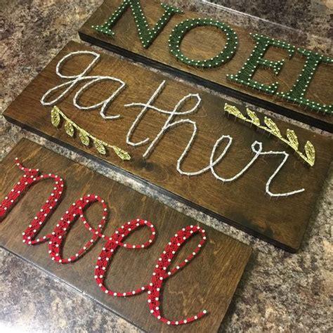 Nail Board String - noel cursive string board string by