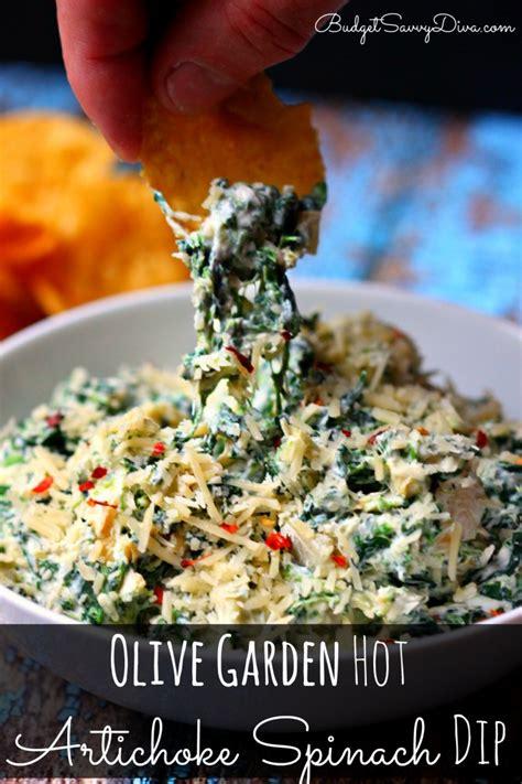 olive garden artichoke spinach dip recipe budget