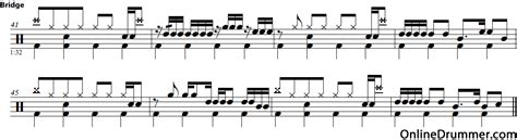 tutorial drum remember of today drum lessons drum fills from down under onlinedrummer com