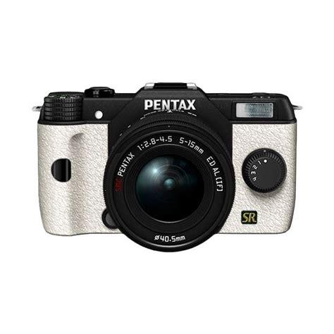 Kamera Pentax Q Kit jual pentax q7 lens kit hitam putih kamera mirrorless harga kualitas terjamin