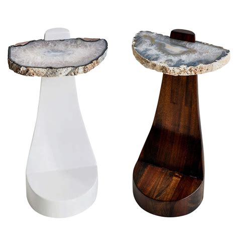 agate side table at 1stdibs