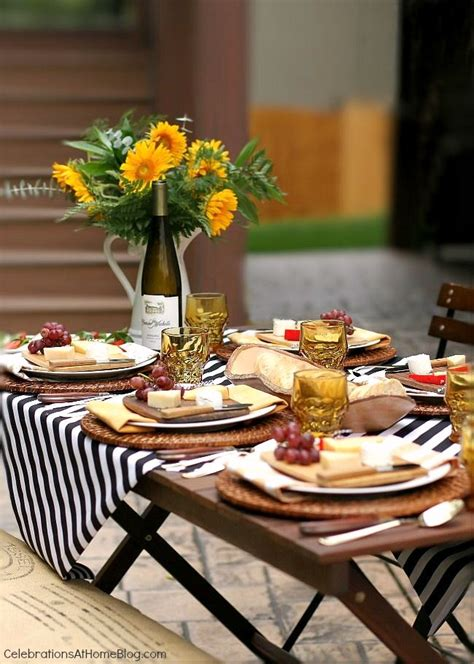ideas for a dinner party at home entertaining welcome fall with a dinner party al fresco