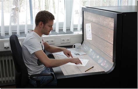 Bend The Desk 187 computer desk future technology