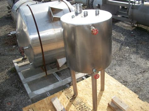 Alat Peternakan 304 Stainless Steel Tank Machin used approximately 20 gallon vertical 304 stainless steel tank dhg used equipment