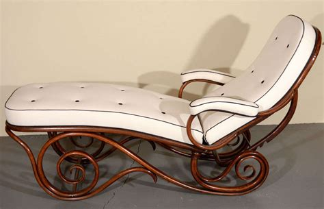 chaise thonet thonet bentwood chaise longue at 1stdibs