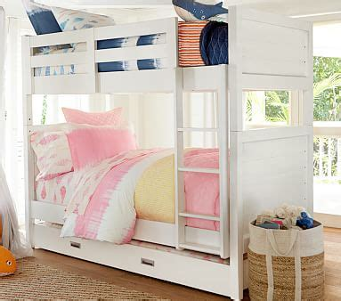 pottery barn kids bunk beds emery twin over twin bunk bed pottery barn kids