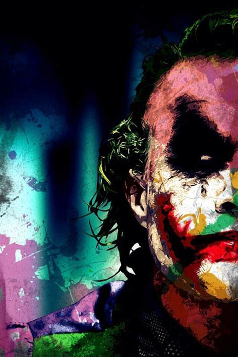 colourful joker wallpapers joker iphone wallpaper