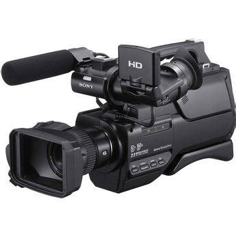 sony hxr mc2000 avchd camcorder 16gb package + more